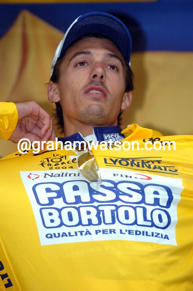 FABIAN CANCELLARA IN THE 2004 TOUR DE FRANCE