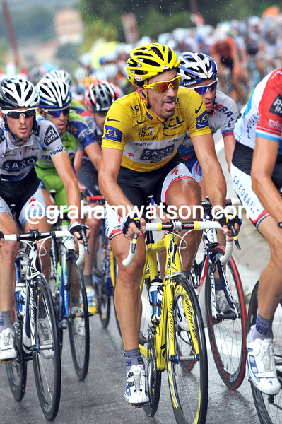 FABIAN CANCELLARA ON STAGE SIX OF THE 2009 TOUR DE FRANCE
