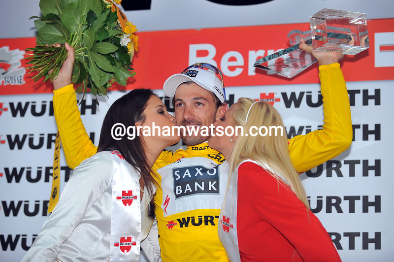 FABIAN CANCELLARA ON STAGE NINE OF THE 2009 TOUR OF SWITZERLAND