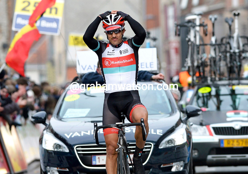 Fabian Cancellara wins the 2013 E3 Harelbeke