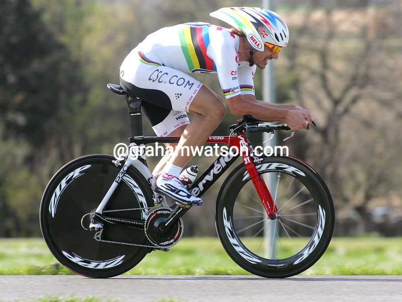 FABIAN CANCELLARA IN THE 2008 TIRRENO-ADRIATICO