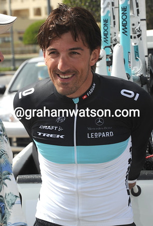 FABIAN CANCELLARA ON STAGE FIVE OF THE 2011 TOUR OF QATAR