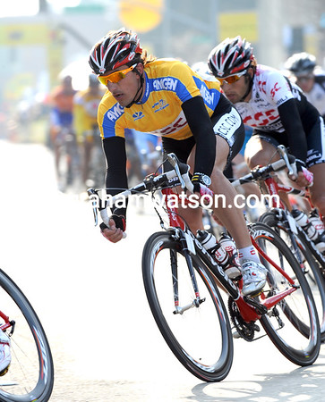 FABIEN CANCELLARA ON STAGE ONE OF THE 2008 TOUR OF CALIFORNIA