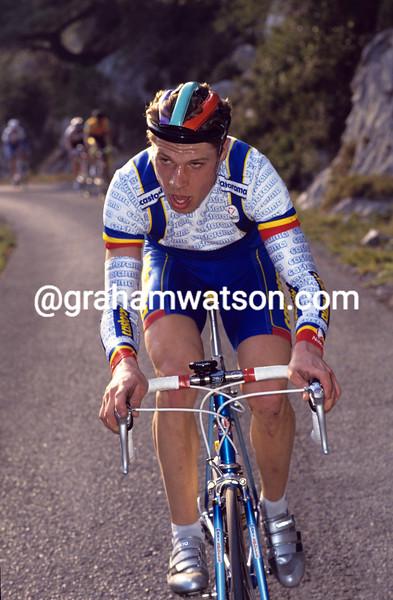 Fabian Jeker in the 1993 Tour Mediterraneen