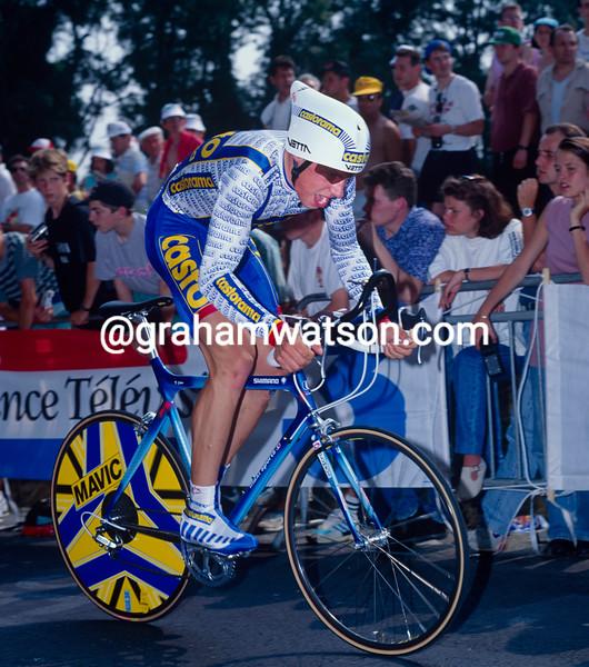 Fabian Jeker in the 1993 Tour de France