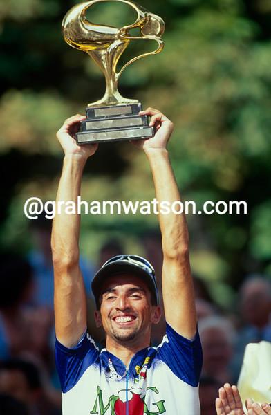 Fabio Baldato in the 1993 Tour de France