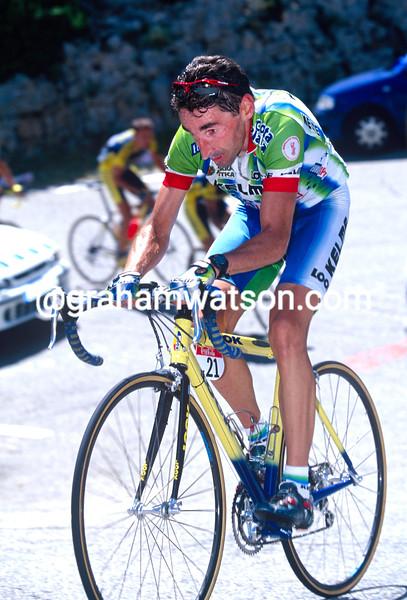 Fernando Escartin in the 1999 Tour de France