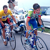 Fernando Escartin and Lance Armstrong in the 1999 Tour de France