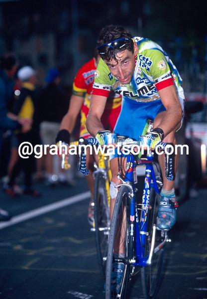 Fernando Escartin in the 1999 Tour of Spain