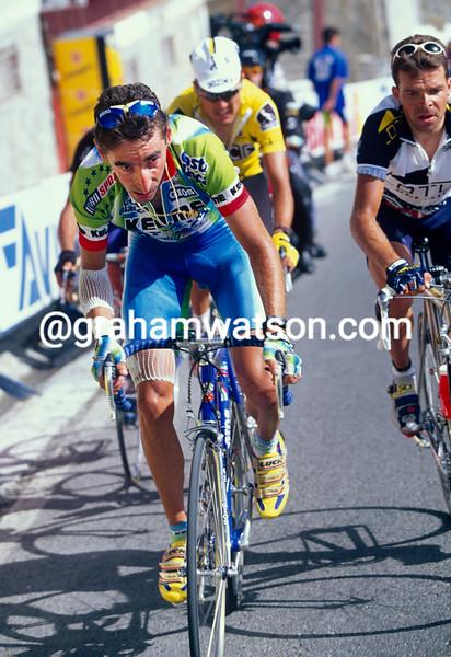 Fernando Escartin in the 1997 Tour of Spain