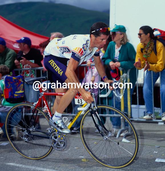 Jose-Ramon Arrieta in the 1993 Tour de France