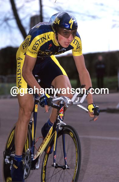 David Clinger in the 2000 Paris-Nice