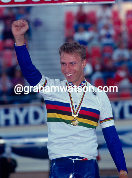Florian Rousseau in the 1993 World Championships