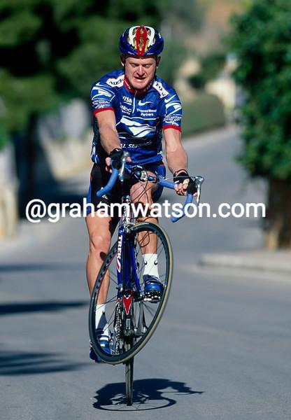Floyd Landis in 2001