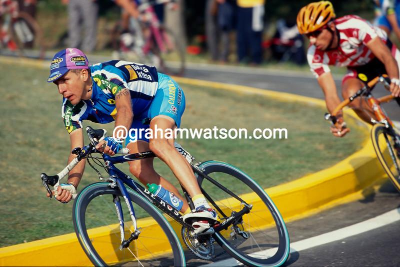 Francesco Casagrande in the 1999 World Championships in Verona