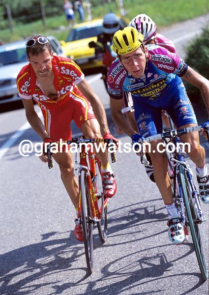 Francesco Casagrande in the 2001 Championship of Zurich