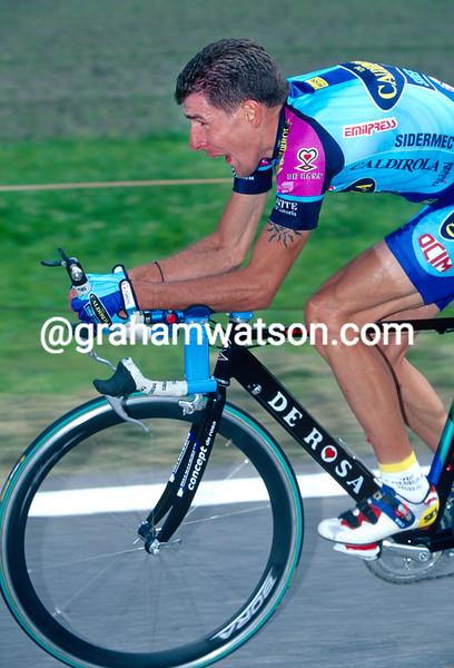 Francesco Casagrande in the 1997 Tour of Switzerland