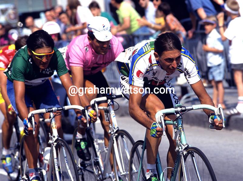 Franco Chioccioli in the 1992 Giro d'Italia