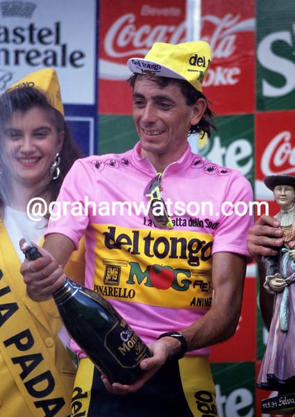 Franco Chioccioli in the 1991 Giro d'Italia