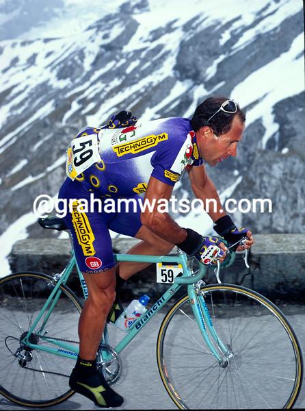 Franco Vona in the 1992 Giro d'Italia