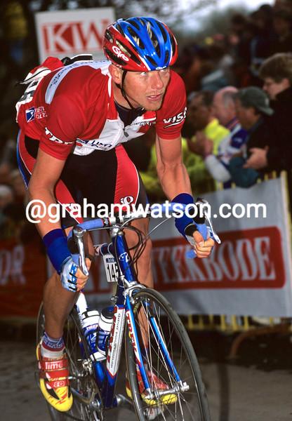 FRANK HOJ IN THE 1999 GHENT-WEVELGEM