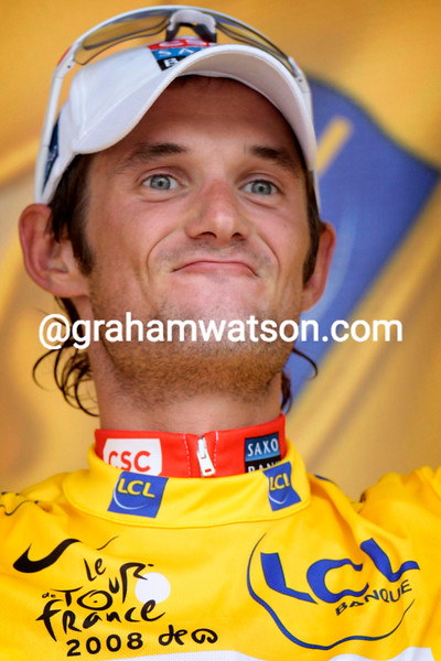 FRANK SCHLECK AFTER STAGE FIFTEEN OF THE 2008 TOUR DE FRANCE