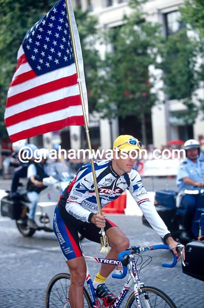 Franky Andreu in the 2000 Tour de France