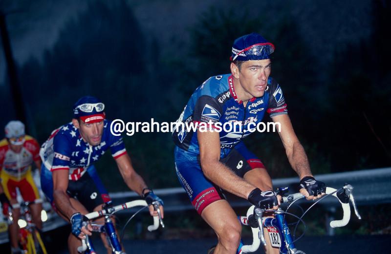 Franky Andreu in the 1999 Tour de France