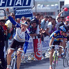 Frans Maassen wins a stage in the 1990 Tour de France