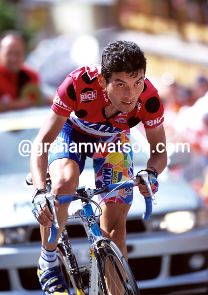 Fred Rodriguez on a stage of the 2000 Tour de Suisse
