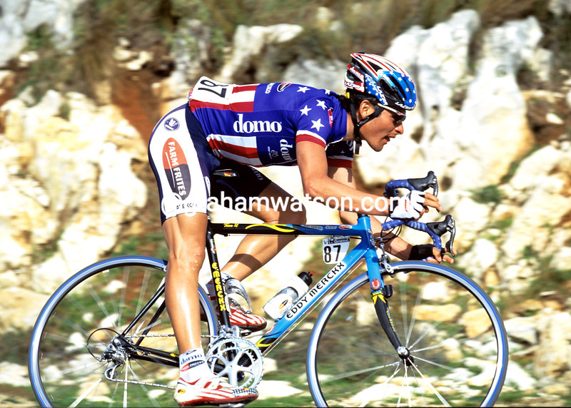Fred Rodriguez in the 2001 Tour de France
