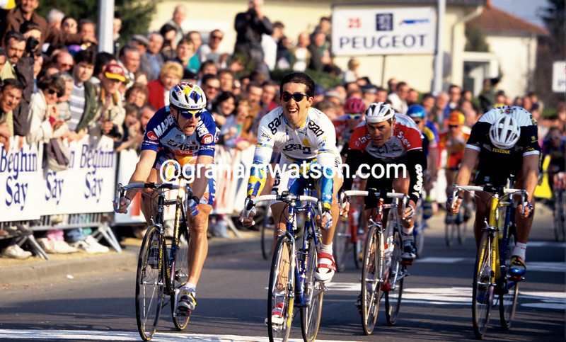 Frederic Moncassin in the 1996 Paris-Nice