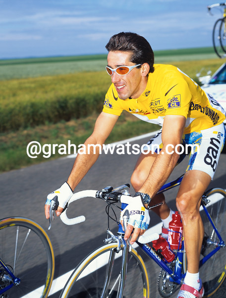 Frederic Moncassin in the 1996 Tour de France