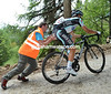 Miachel Kwiatkowski on the Mortorilo on stage twenty of the 2012 Giro d'Italia