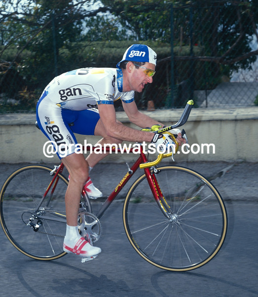 Pascal Lance in the 1995 Paris-Nice