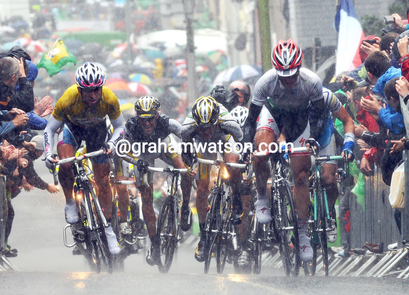 Stage three of the 2009 Tour of Ireland saw Russell Downing climbing St Patrick's Hill ahead of his rivals...