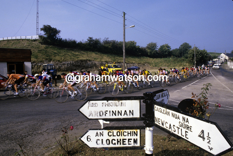 Cyclists in the 1989 Tour of Ireland