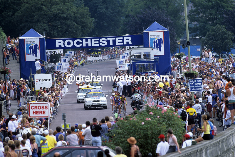 Cyclists in the 1997 Rochester Classic