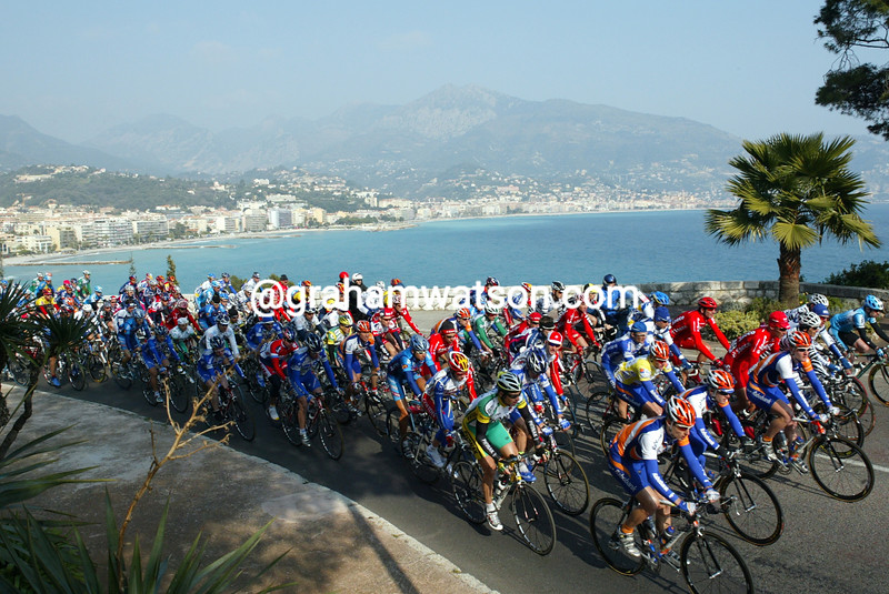 The Tour Mediterranean leaves Menton in 2004