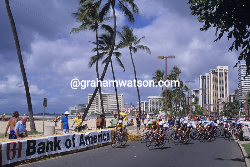 Tour of Hawaii in 1993