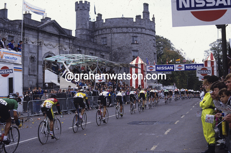 Cyclists in the 1990 Tour of Ireland