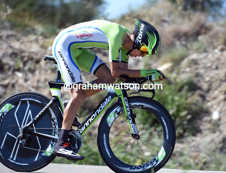 George Bennett on stage ten of the 2014 Tour of Spain