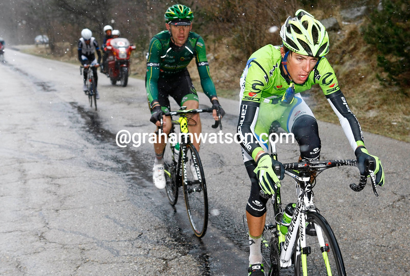 George Bennett on stage four of the 2014 Tour of Catalonia