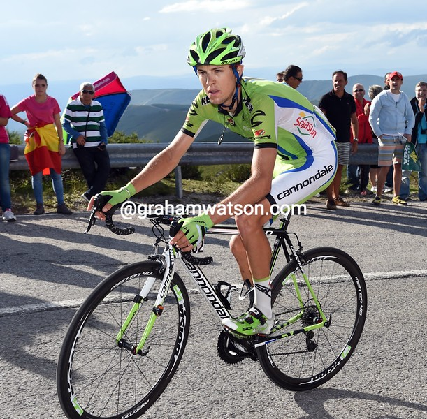 George Bennett on stage twenty of the 2014 Tour of Spain