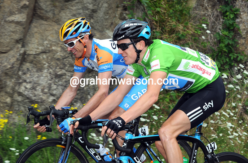 DAVID MILLAR AND GERAINT THOMAS