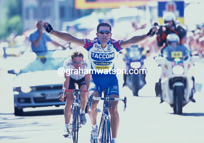 Gianluca Bortolami in the 2001 Tour of Switzerland
