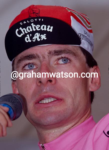 Gianni Bugno in the 1990 Giro d'Italia
