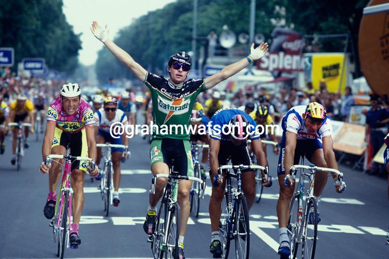 Gianni Bugno in the 1992 Giro d'Italia