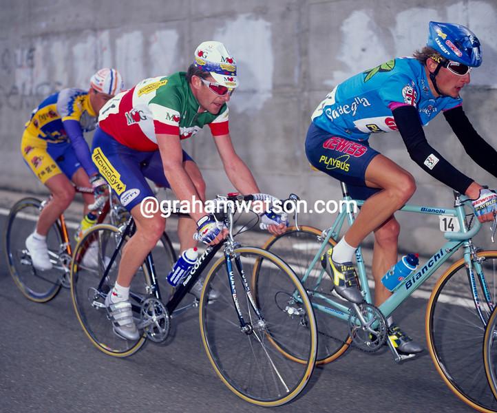 Gianni Bugno in the 1993 Giro d'Italia