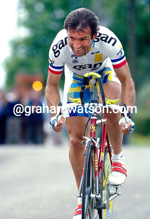 Gilbert Duclos-Lassalle in the 1990 Tour de France